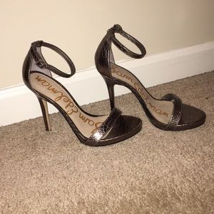 Sam Edelman Eleanor Metallic Snake Size 8.5